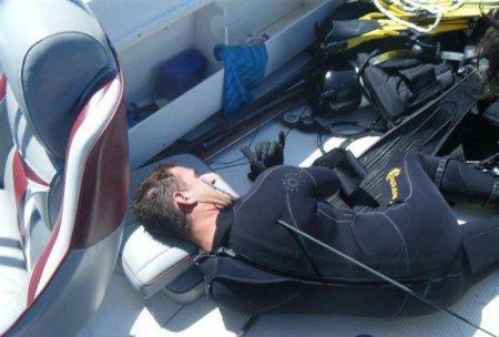 Подводная охота удалась [2 фото]