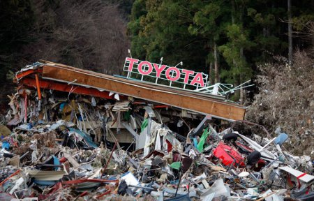 Япония. 2 недели после землетрясения [18 фото]