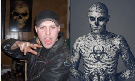 Rick Genest: Человек - Скелет [6 фото]
