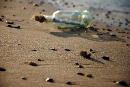 На острова в Карибском море приплыла 50-летняя записка в бутылке