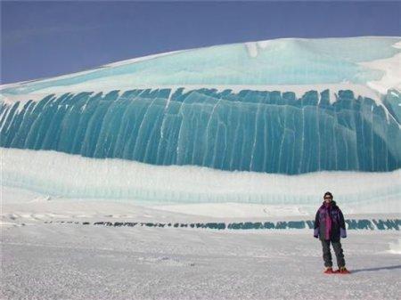 Замерзшие волны [4 фото]